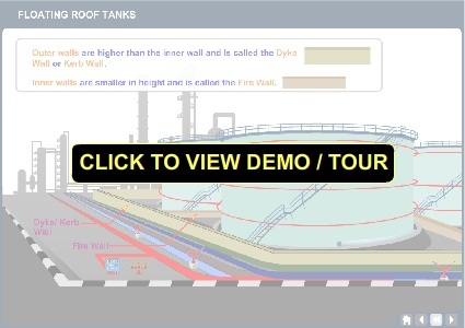 Floating Roof Tank Animation - Demo