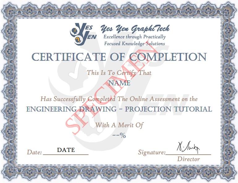Engineering Drawing Tutorial - Skill Test